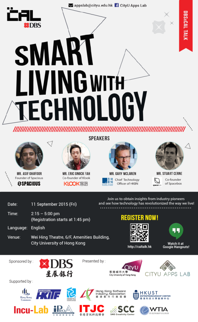 20150911 Smart Living with Technology