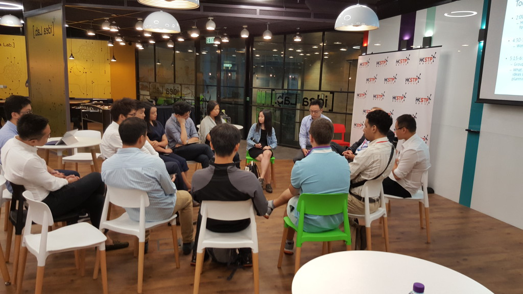 Day 3: Group Discussion @ Idea Lab, HKSTP