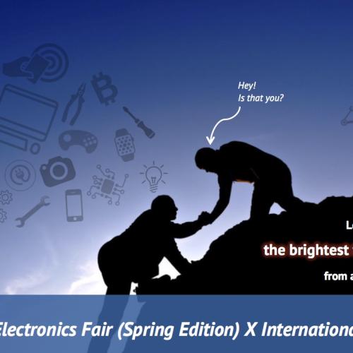 Hong Kong Electronics Fair (Spring Edition) X International ICT Expo