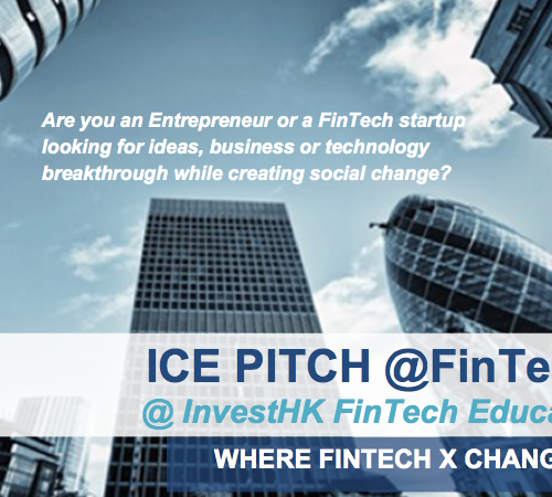 ICE PITCH @ FinTech 2017 at InvestHK FinTech Education Week