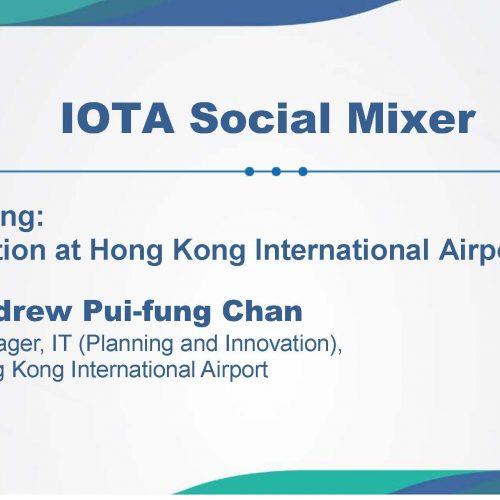 IOTA Social Mixer: IoT Application at Hong Kong International Airport